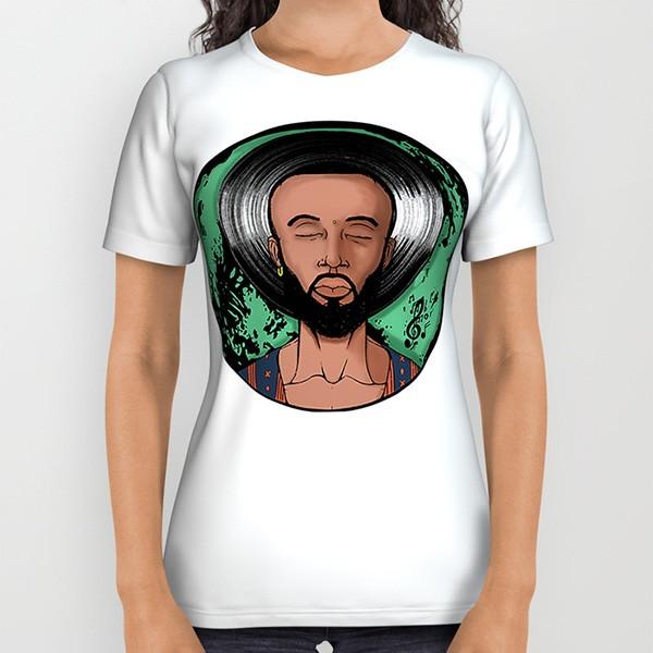 Dexter Jordan T-shirt (designed by Quincy Woodard)