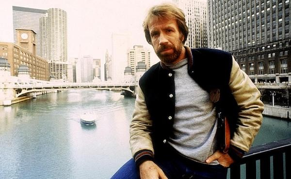 Chuck Norris in Code of Silence (Photo: Kino & MGM)