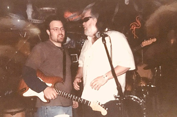 Daniel and one-time Allman Brothers Band member Johnny Neel.