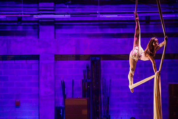 A shot from last year's Sur: An Acrobatic Journey. (Photo by Brian Twitty)
