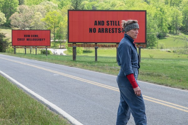 Three Billboards Outside Ebbing, Missouri (Photo: Fox Searchlight)