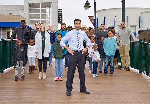 Mujtaba Mohammed wants to build some bridges. (Photos by Suzanne Starnes Photography)