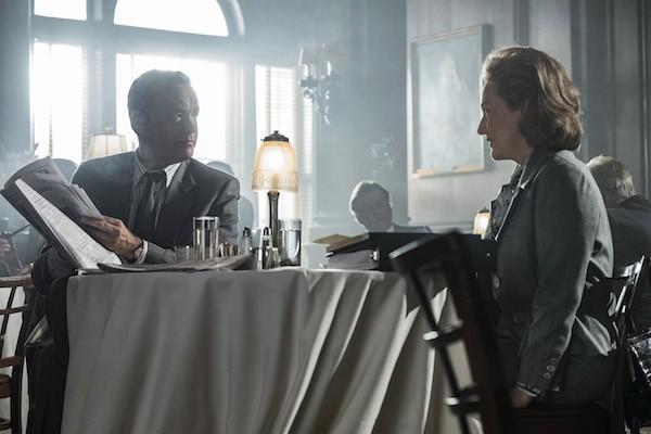 Tom Hanks and Meryl Streep in The Post (Photo: Fox)