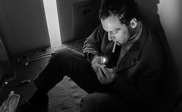 Maurice Ronet in Elevator to the Gallows (Photo: Criterion)