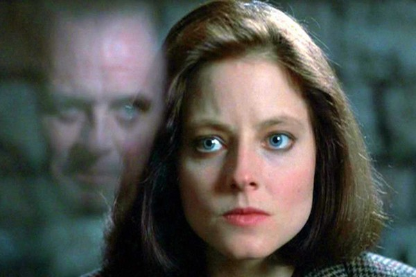 Anthony Hopkins and Jodie Foster in The Silence of the Lambs (Photo: Criterion)