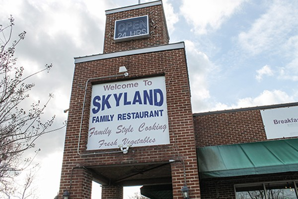 Skyland Family Restaurant opened in 1993. (Photo by Alexandria Sands)