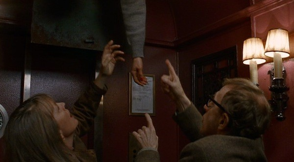 Diane Keaton and Woody Allen in Manhattan Murder Mystery (Photo: Twilight Time)
