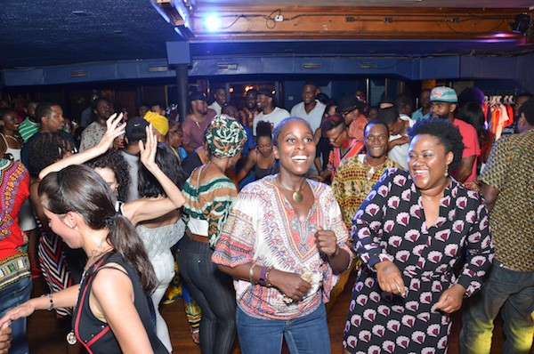 Wide-eyed and in the moment: AfroPop is in full effect by the wee hours. (Photo courtesy of AfroPop! Nation)