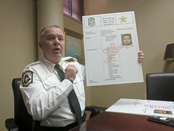 Mecklenburg Sheriff Candidates Speak Candidly On Three Hot Button