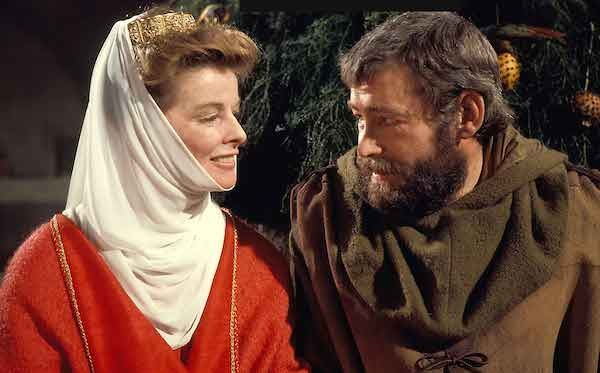 Katharine Hepburn and Peter O'Toole in The Lion in Winter (Photo: Kino, MGM & Studio Canal)