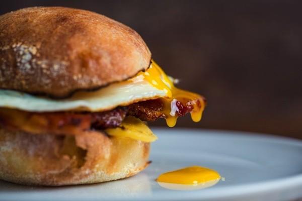 A littleSpoon breakfast sandwich.