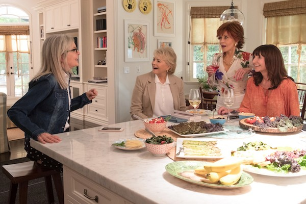 Diane Keaton, Candice Bergen, Jane Fonda and Mary Steenburgen in Book Club (Photo: Paramount)