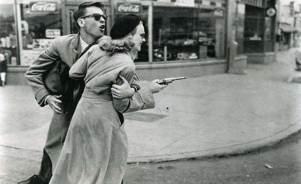 John Dall and Peggy Cummins in Gun Crazy (Photo: Warner)