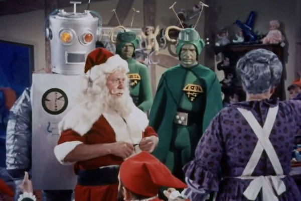 Santa Claus Conquers the Martians, included in the latest MST3K set (Photo: Shout! Factory)