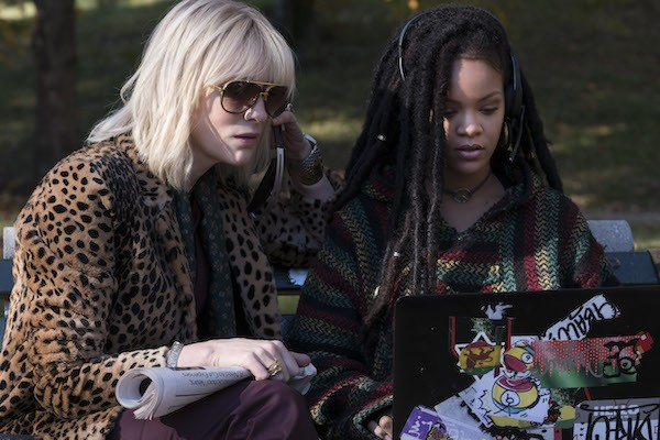 Cate Blanchett and Rihanna in Ocean's 8 (Photo: Warner)