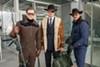 Taron Egerton, Colin Firth and Pedro Pascal in <i>Kingsman: The Golden Circle</i> (Photo: Fox)