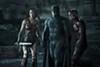 Gal Gadot, Ben Affleck and Ezra Miller in <i>Justice League</i> (Photo: Warner & DC)