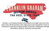 Franklin Graham Tar Heel State Tour (Oct 1-13)