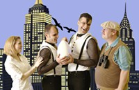 Queen City Theatre Company's <i>Birds of a Feather</i> brings the flocks together