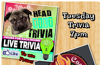 Trivia Tuesdays with HeadTilt Trivia