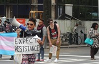 Protesters shut down Trade and Tryon, call for repeal of HB2