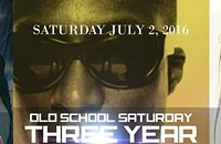 Old School Saturday 3 Year Anniversary Party