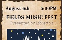 Fields Music Fest Sponsored by Libretto's