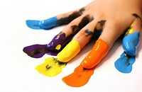 Finger Painting Grown-Up Style | BYOB!