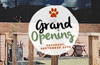 Grand Opening Pawty