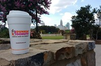 National Coffee Day at Dunkin' Donuts in Charlotte