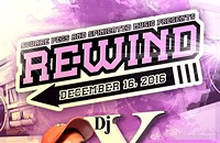 Square Pegs presents Rewind ft. Dj X