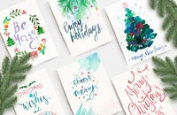 Intro to Watercolors: Holiday Greeting Cards