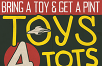 Flying Saucer's Toys for Tots