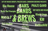 Bars Band and Brews at Unknown Brewery