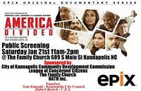 """America Divided"" public screening"