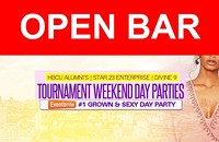 OPEN BAR (6HRS): Kings & Queens Day Party