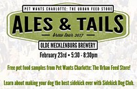 Ales & Tails Tour: Olde Mecklenburg Brewery
