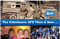 Volunteers: AFS International Programs Then & Now | Fundraiser and Reception