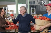 At Mecklenburg County Market, Fresh Food is a Family Affair