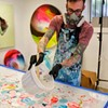 Arthur Brouthers Creates Multicolored Visions of Lives in Charlotte