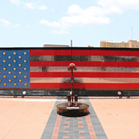 28-foot-wide mobile memorial honors 7000+ fallen heroes and gold star families