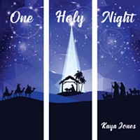 Kaya Jones' newest single is a heartfelt Christmas song about the birth of Jesus Christ