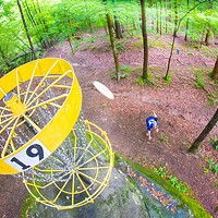 Charlotte, the Mecca of disc golf