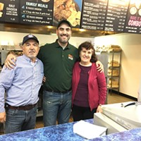 Steak 'n Hoagie Shop Owner Steve Bisbikis is Keeping it in the Family