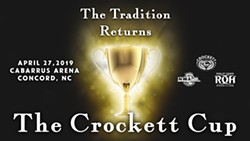 Crockett Cup Comes Back to the Carolinas - Uploaded by NWA