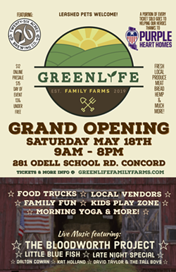 Grand Opening at GreenLife Family Farms for Purple Heart Homes - Uploaded by GreenLifeFamilyFarms