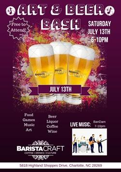 Art & Beer Bash Poster - Uploaded by Rachel Bammel