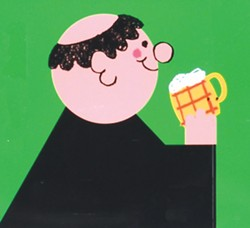 Monks in the early days drank weak beer! - Uploaded by Karen Hite Jacob