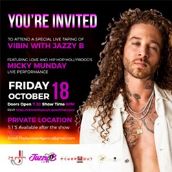 """CHARLOTTE NC YOU'RE INVITED!! Come Out & Join us Friday October 18th For a PRIVATE LIVE Taping of """"Vibin With Jazzy B"""" featuring Love And Hip Hop Hollywood's """"MICKY MUNDAY"""" @mickymunday. You must RSVP IN ADVANCE TO ATTEND THE EVENT.   https://vibinwithjazzyb.splashthat.com/  FOOD/DRINKS/MUSIC will be provided.   When: Friday 10/18.   Location: Given upon confirmation.  Time: Doors Open 7:30PM ShowTime 8pm  Early arrival is suggested.   Special Guests TBA  Volunteers RSVP:TheJamisonAgency@gmail.com.   Media: Videographers, photographers, bloggers RSVP: TheJamisonAgency@gmail.com. - Uploaded by AyeYoKells"""