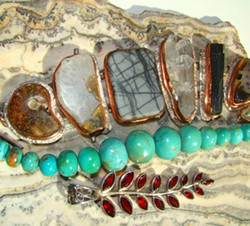 agates and beads - Uploaded by SusanShrader